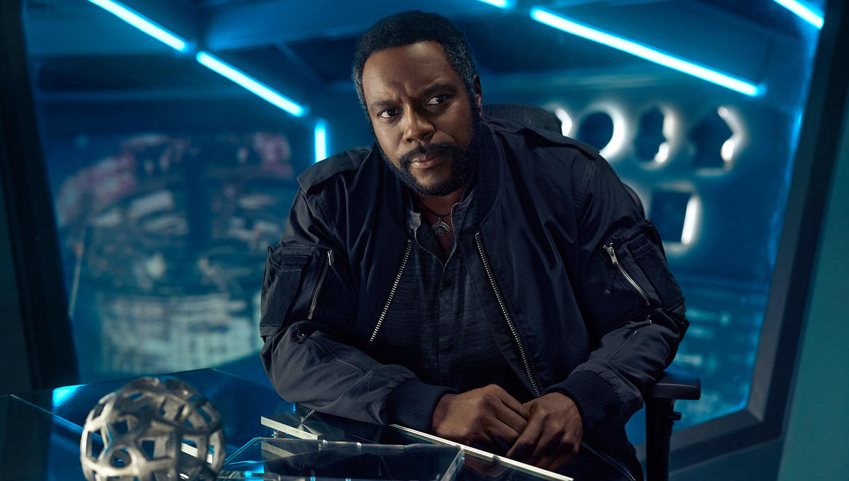 chad l coleman joins seth mcfarlane 39 s space set comedy series orville syfy wire. Black Bedroom Furniture Sets. Home Design Ideas