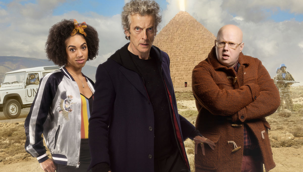 Doctor Who Season 10 Christmas Special.Bbc S Doctor Who Season 10 Episode 7 The Pyramid At The End
