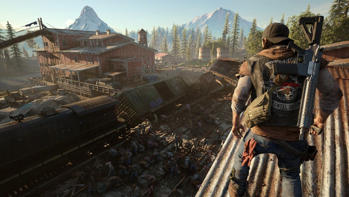 It's a zombie-apocalypse world in first Days Gone trailer, gameplay