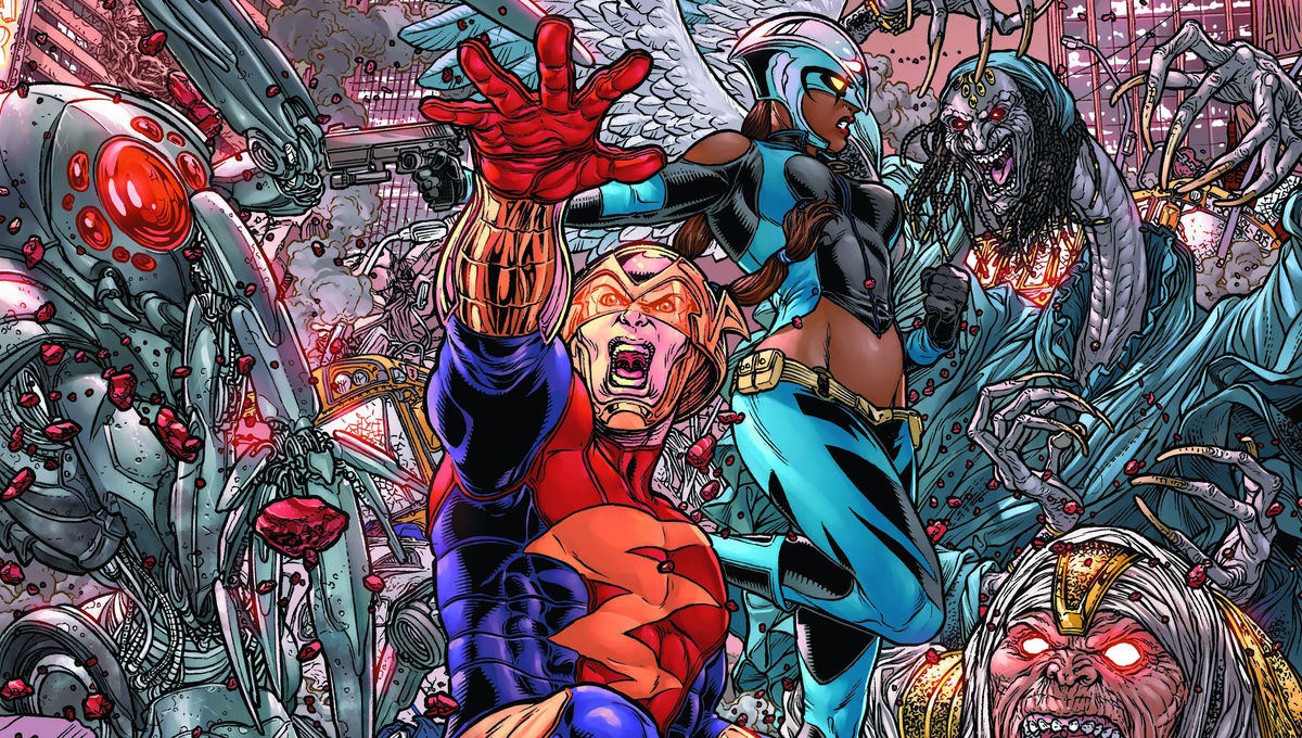 Earth 2: World's End #25: The unstoppable Darkseid and the