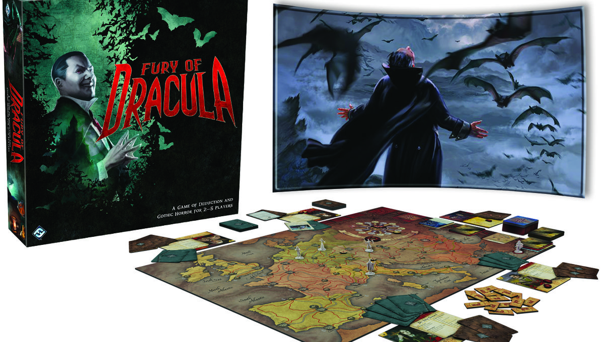 The Undercity, Firefly, Fury of Dracula + 8 more geeky board games to roll the dice on