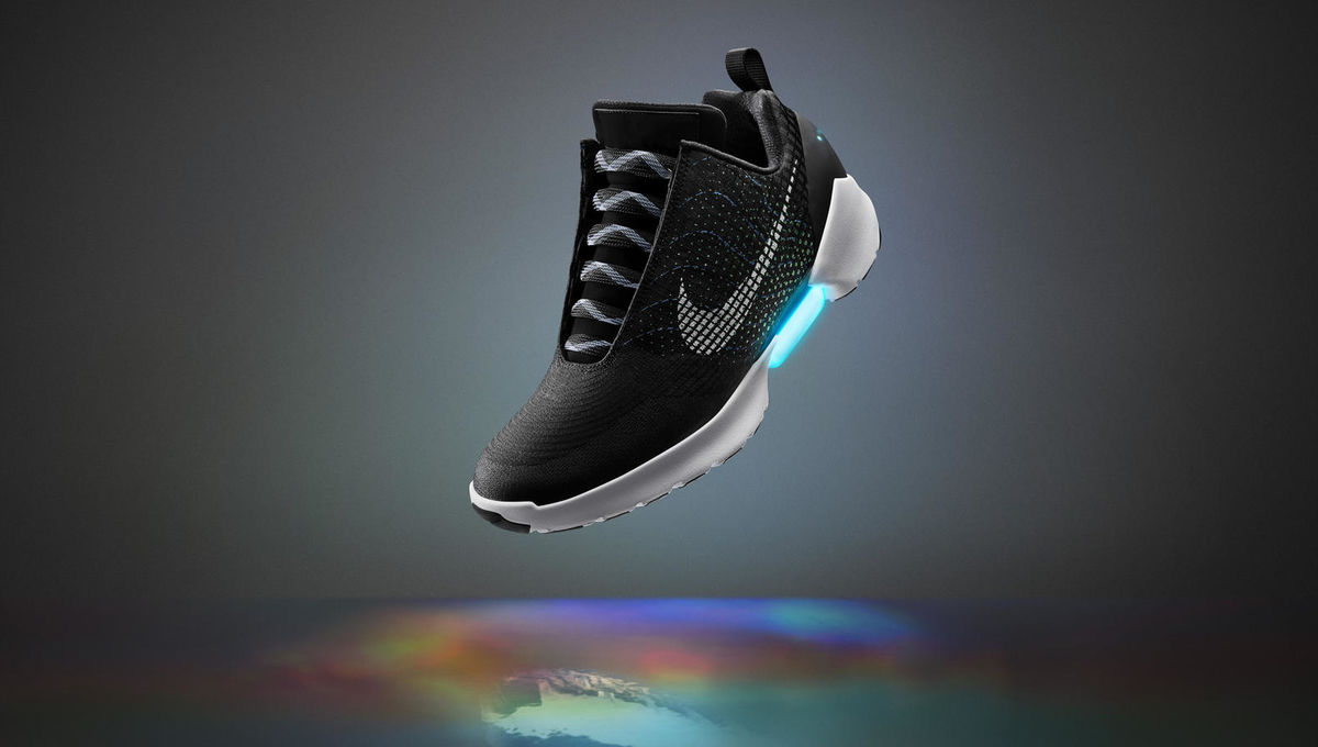 732e6bb09 Nike officially unveils the first self-lacing BTTF-style shoes you ...