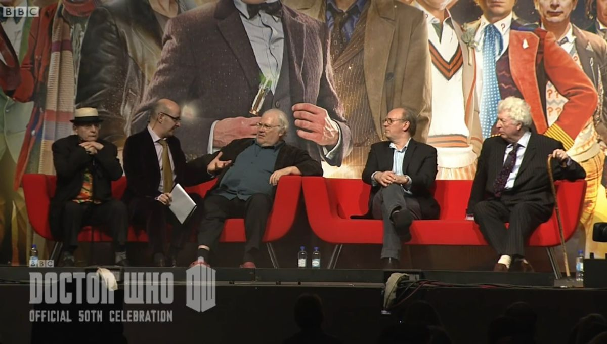Watch four former Doctors weigh in on whether age matters on Doctor Who