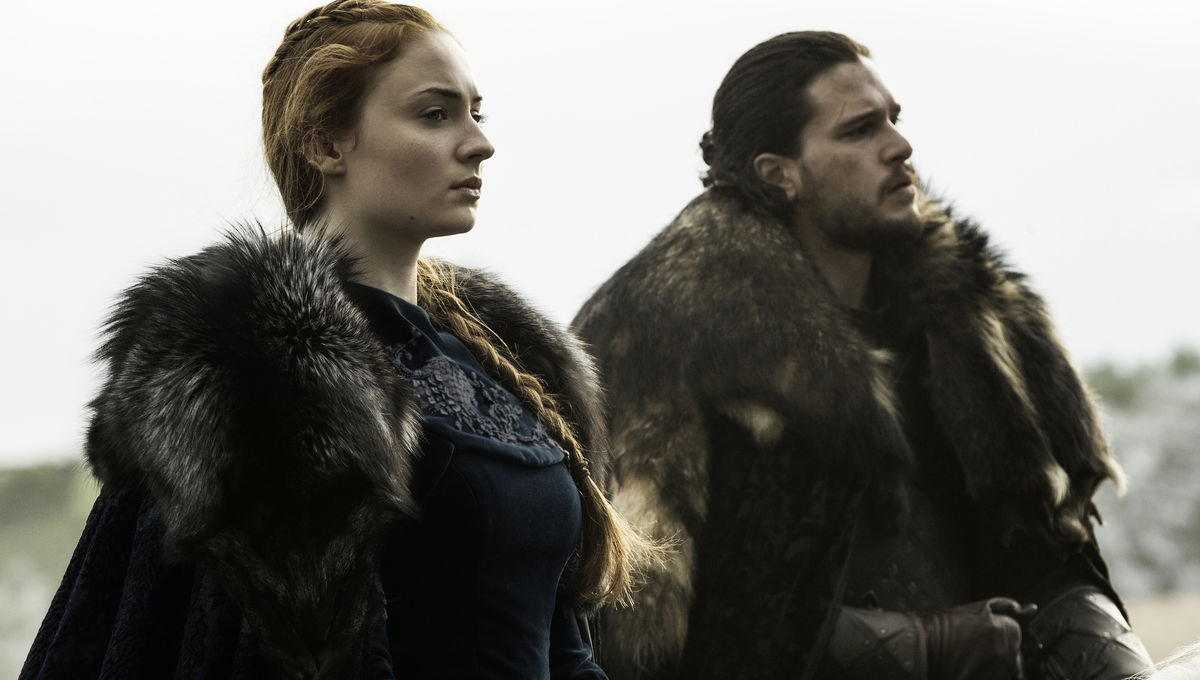 King in the North with Queen Sansa