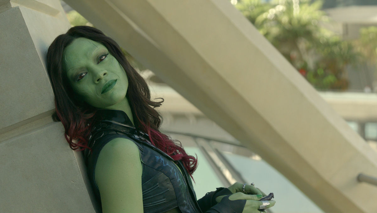 Zoe Saldana Was Aware Of Gamora S Big Role In Avengers