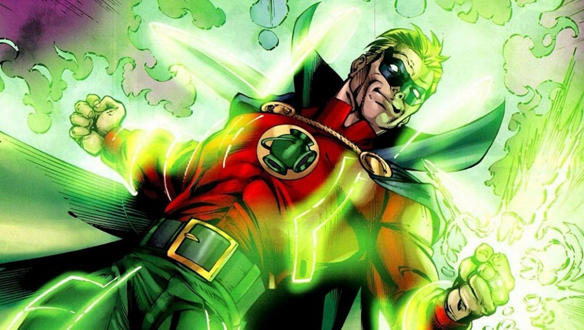 Original Green Lantern aka Alan Scott
