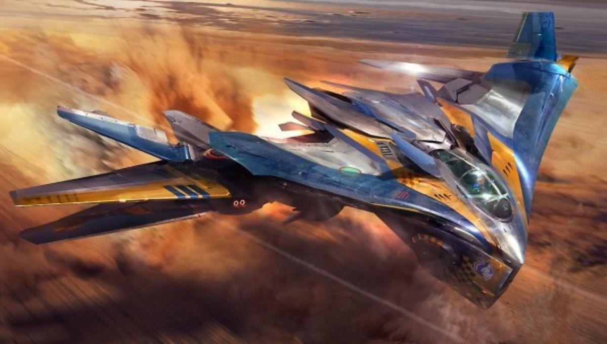 Cute Spaceship Concept Art