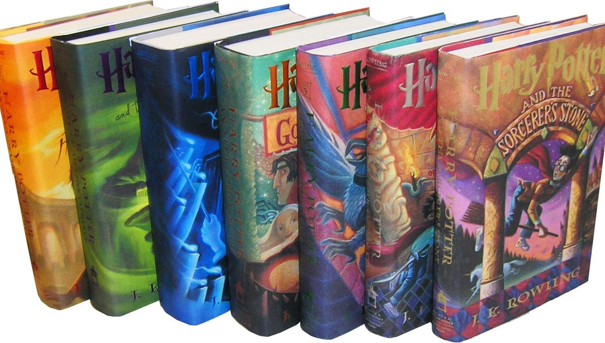 Harry Potter becomes best-selling book series in history