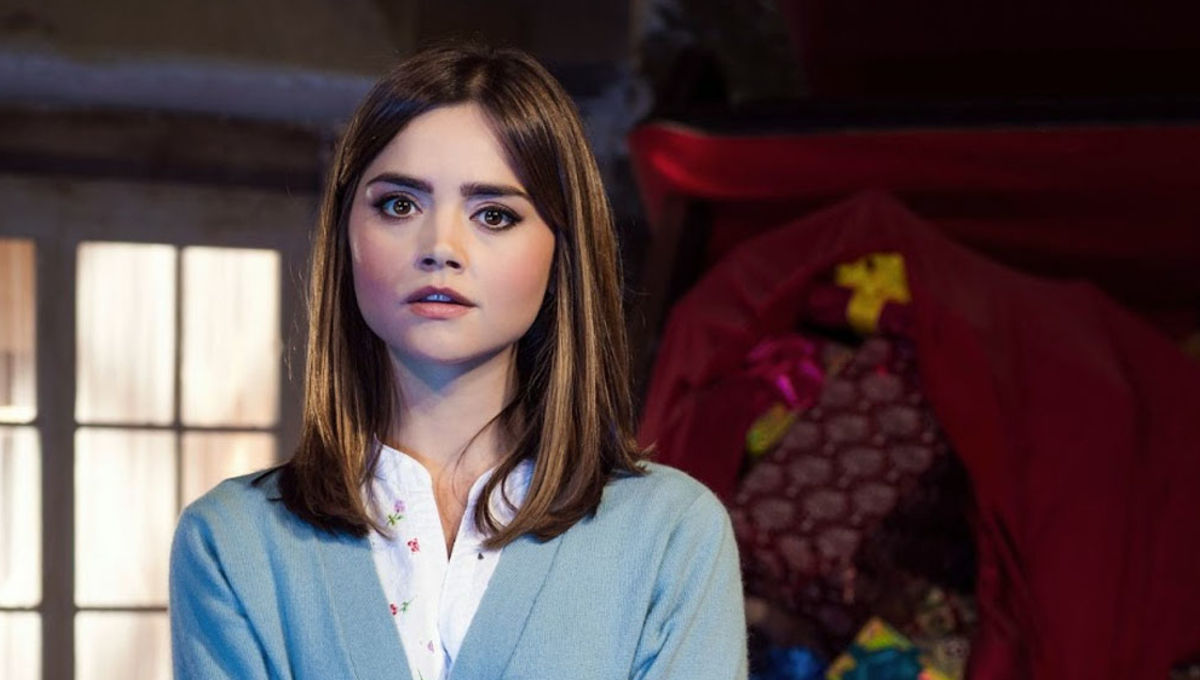 Doctor Who Last Christmas.Steven Moffat Confirms Jenna Coleman Was To Leave Doctor Who