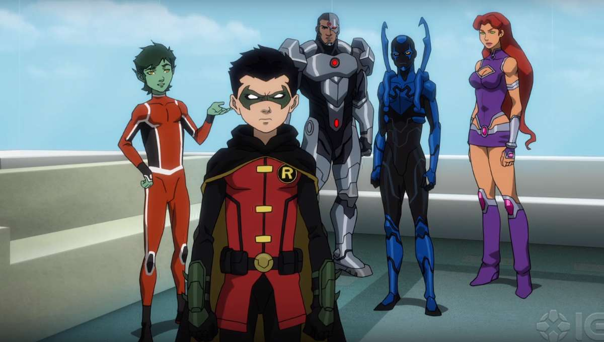 Hell On Earth Is Unleashed In First Justice League Vs Teen Titans Trailer Blastr Syfy Wire
