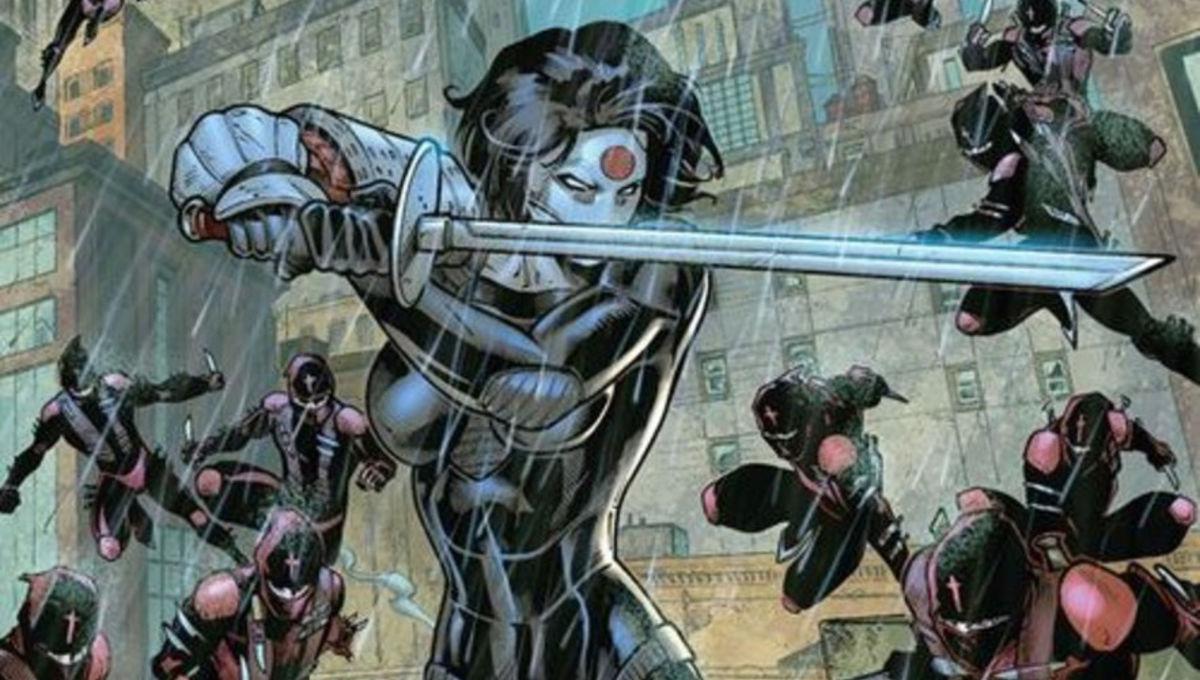 The Cw S Arrow Adds Dc Hero Katana To The Cast For Season Three