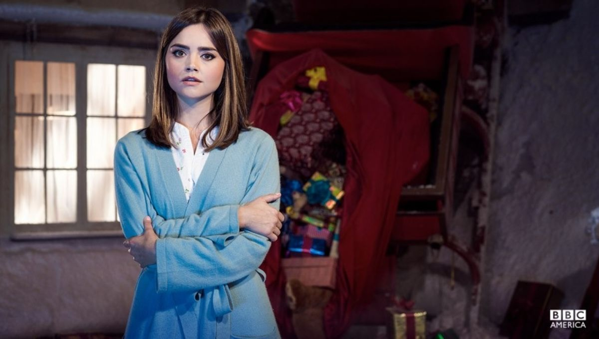 More details on Doctor Who Christmas ep, plus more evidence Clara's