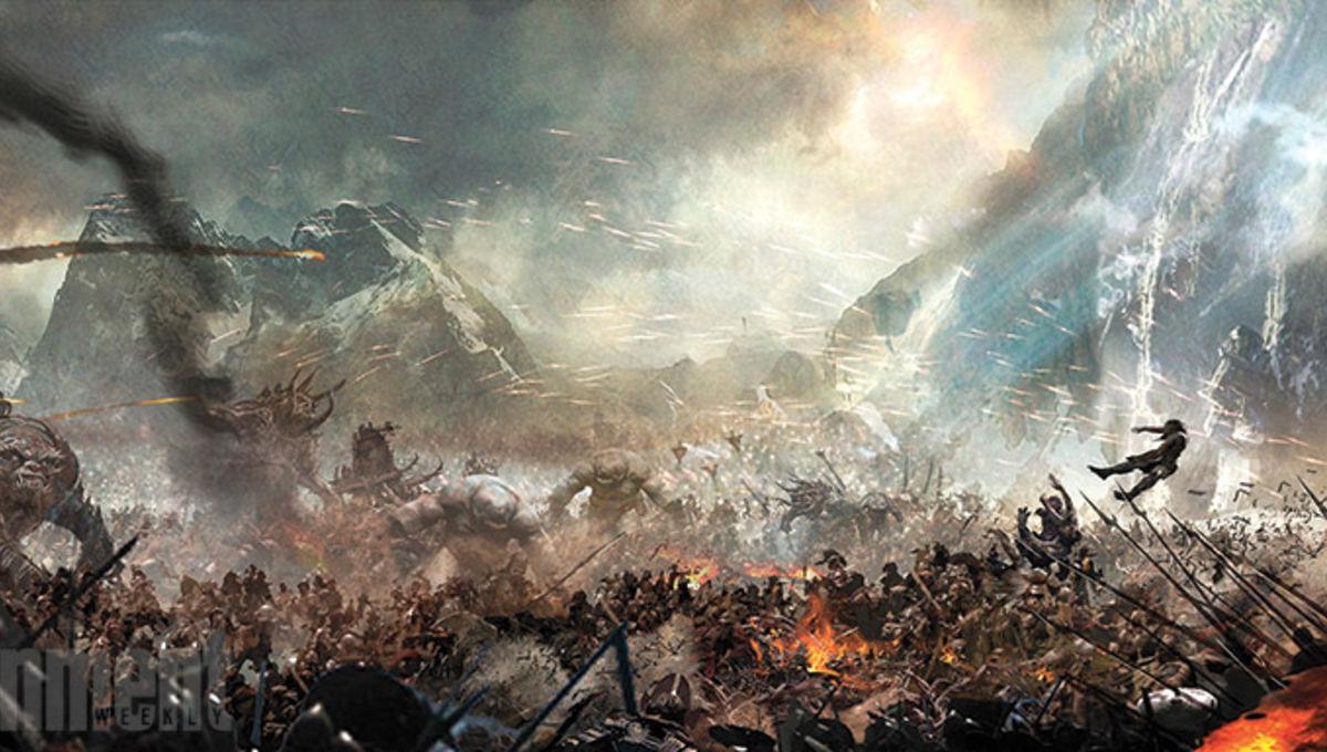 Battle Of The The Five Armies Orcs Concept Art