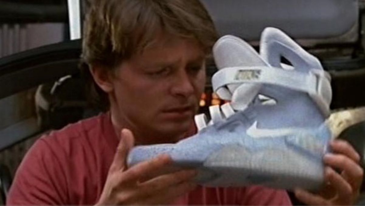 9c31324585a Nike plans self-lacing shoes for Back to the Future s future-versary ...