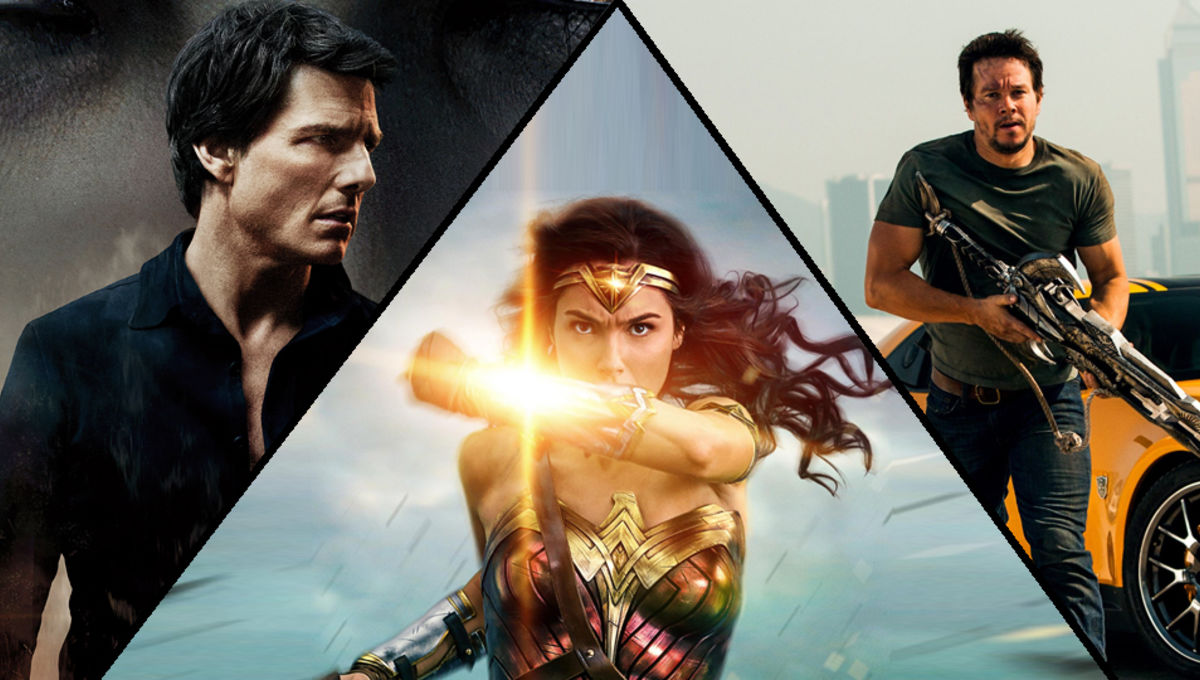 June Syfy Movie Preview - Wonder Woman! The Mummy! Transformers!