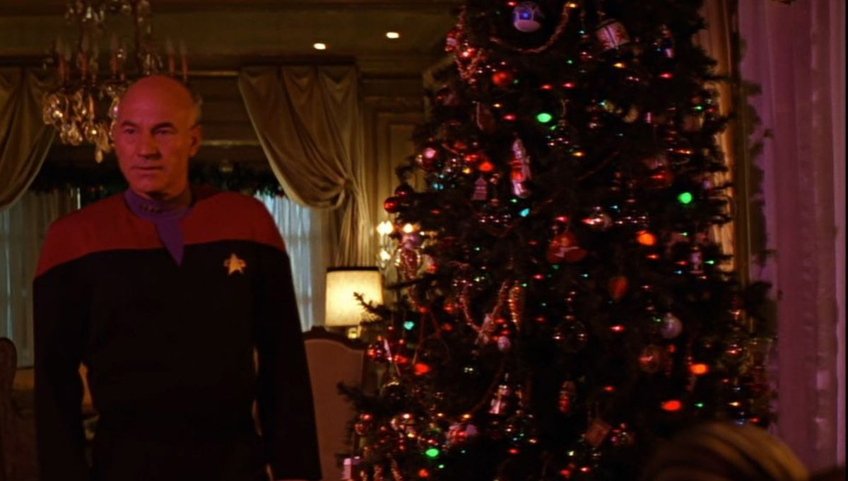 Will It Snow For Christmas Cast.Merry Xmas Watch The Cast Of Star Trek Tng Sing Make It