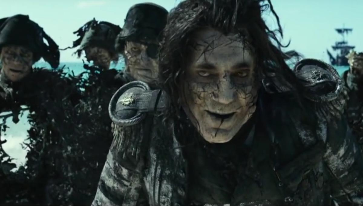 jack sparrow and javier bardem face off in new pirates of the