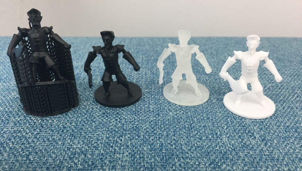 image regarding Printable Minis D&d titled 3D print a tabletop miniature with this Shapeways manual