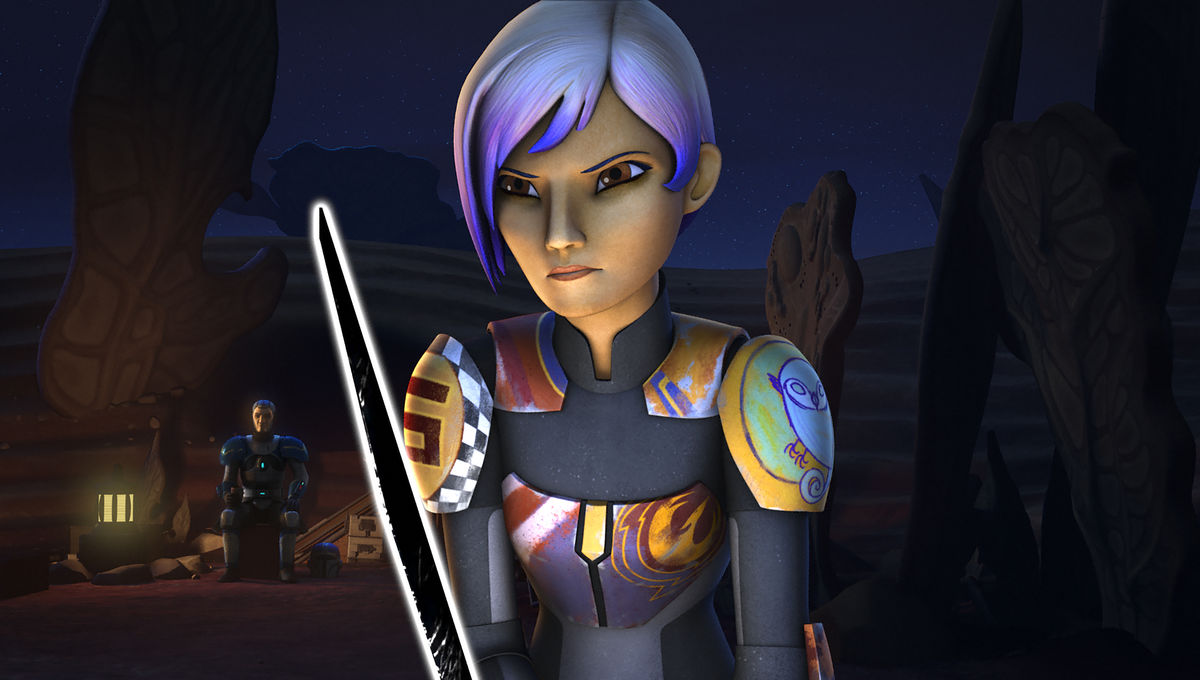Star Wars Rebels Sabine Darksaber
