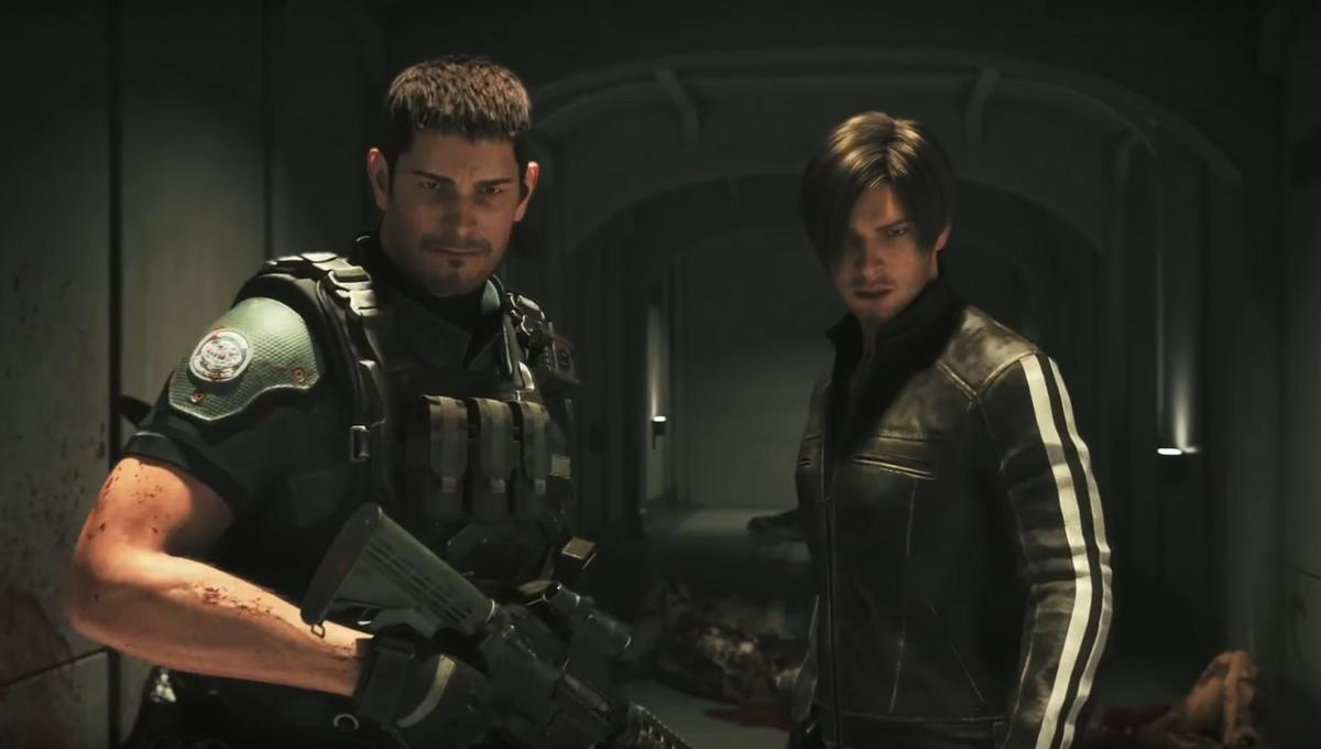 Chris Redfield And Leon S Kennedy Return In New Trailer For