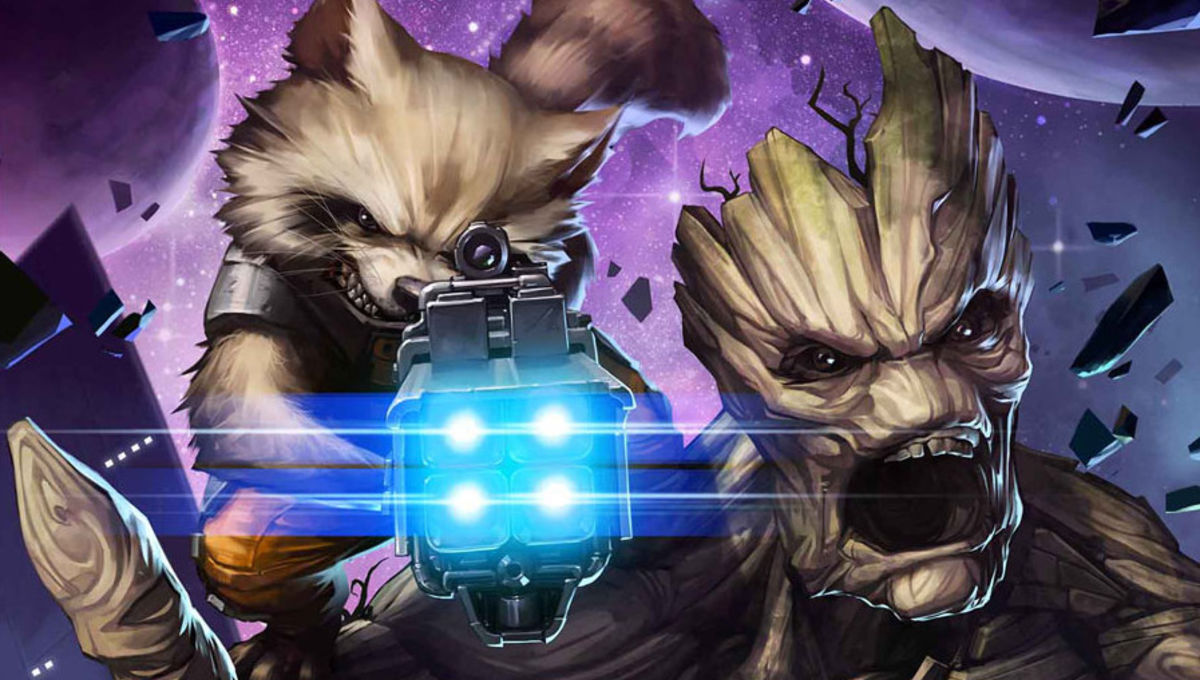 See Rocket and Groot being badass in a preview of their new