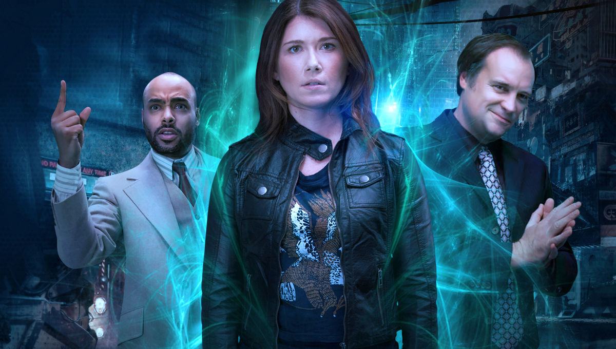 EXCLUSIVE: Jewel Staite and David Hewlett on their 'kick-ass little' web  series, State of Syn