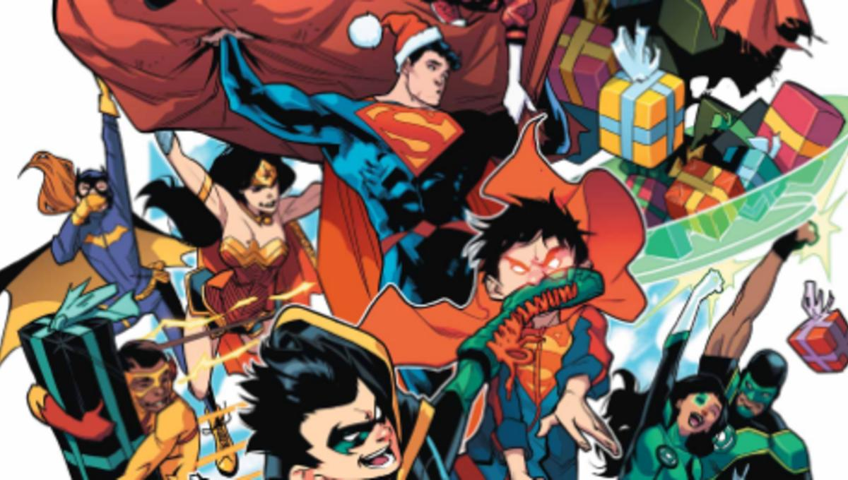 Batman Christmas.Batman And Superman Celebrate Christmas In New 8 Page
