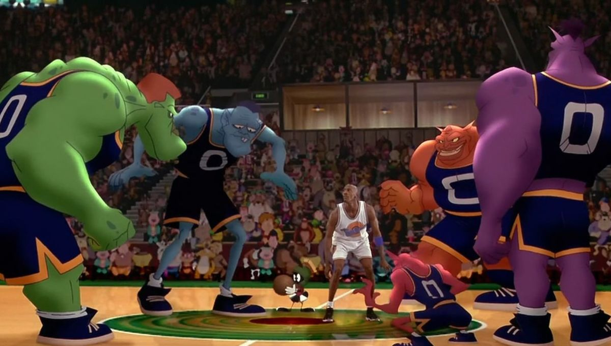 210f4fbf2 The director of the original Space Jam asserts that LeBron is no Michael  Jordan