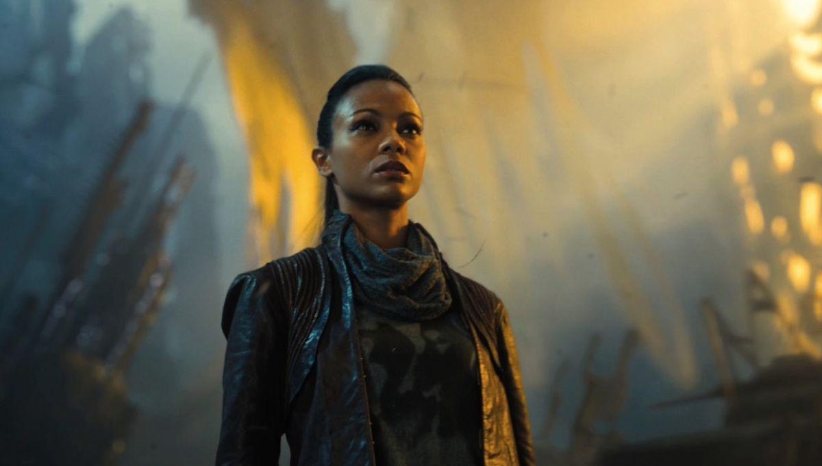 Why Zoe Saldana Nearly Turned Down Star Trek Hint Blame