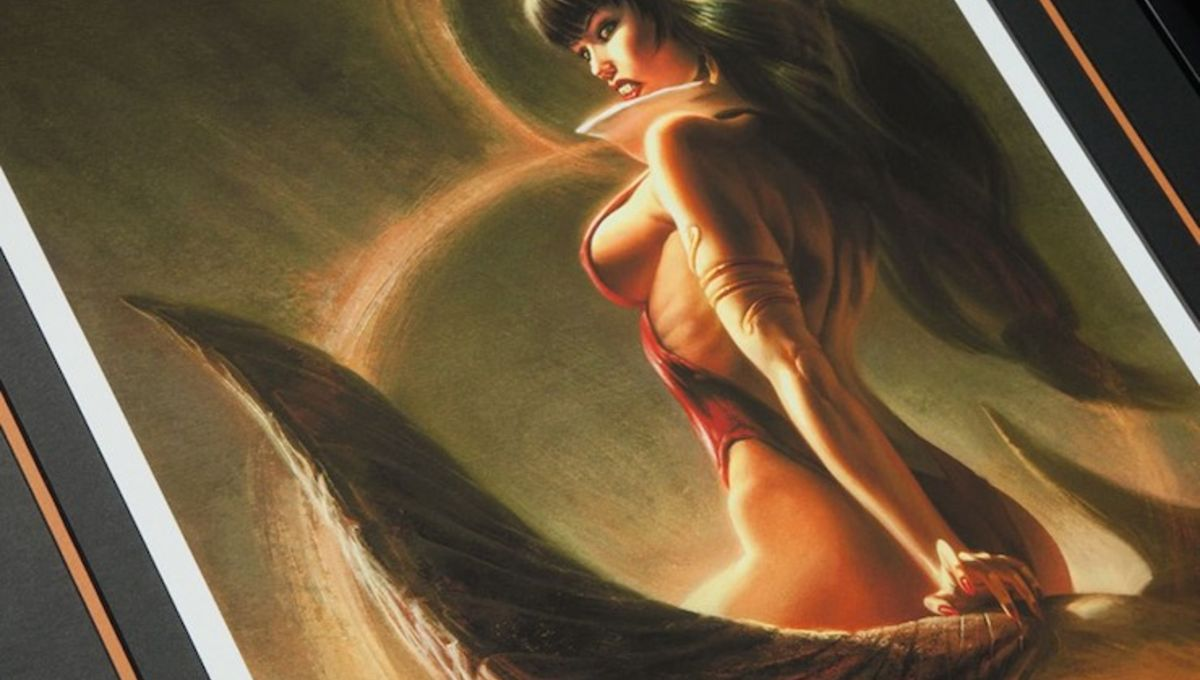 The story of Vampirella