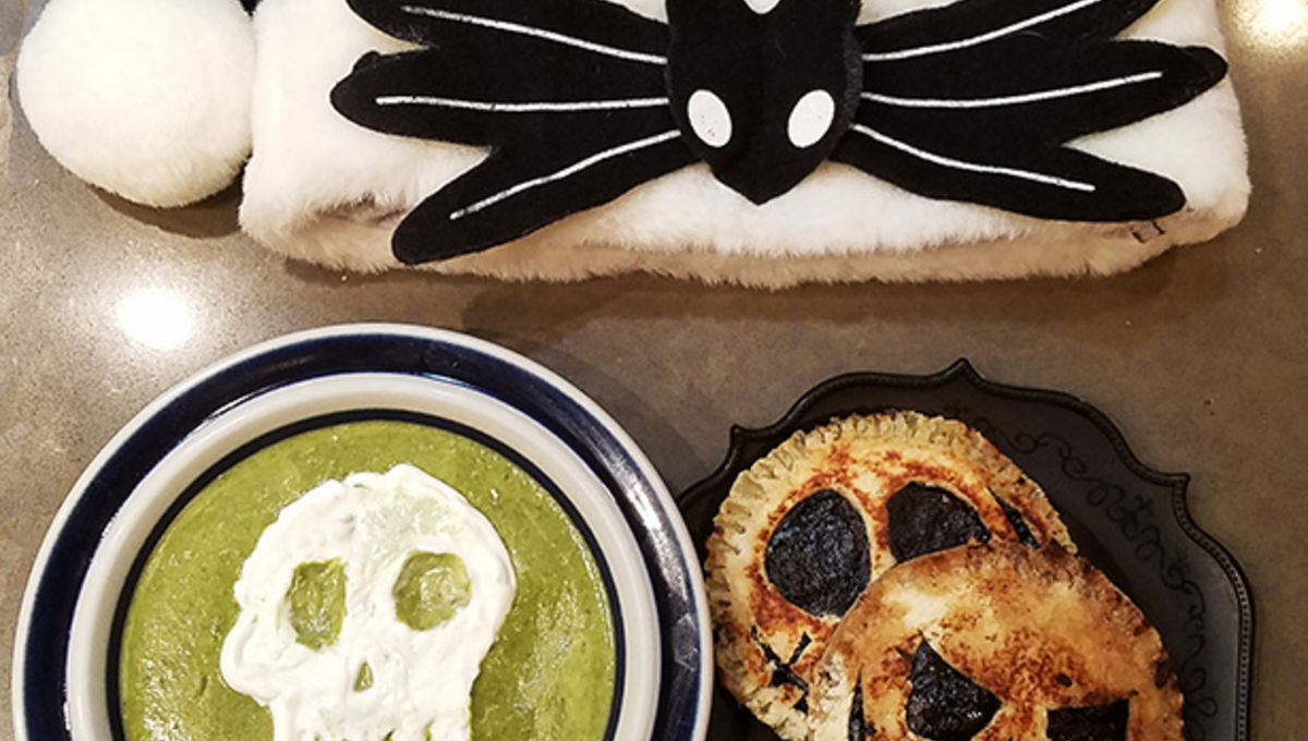 Fantastic Feasts: Sally's Worm's Wart Soup and Jack Skellington