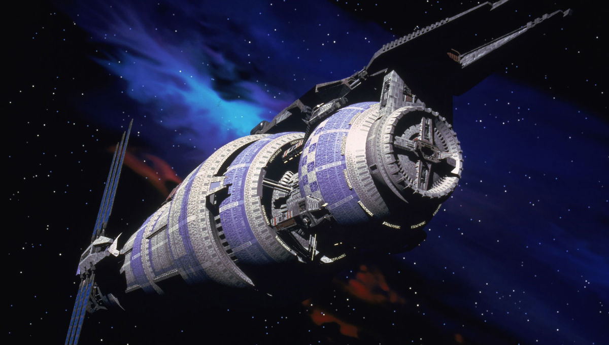 This guy spent over half a year building Babylon 5 out of LEGOs