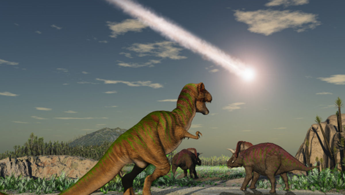 Hey, maybe the dinosaur-killer asteroid really *did* act alone!