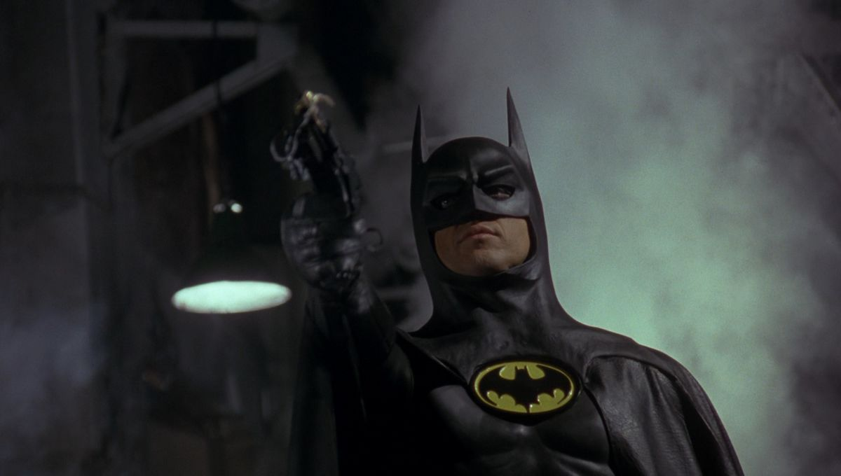 Michael Keaton explains how ripping his costume helped him