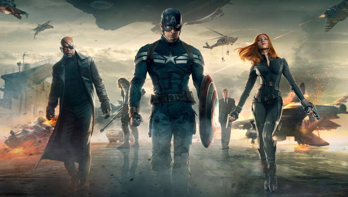 Winter Soldier - Captain America -Black Widow - Nick Fury