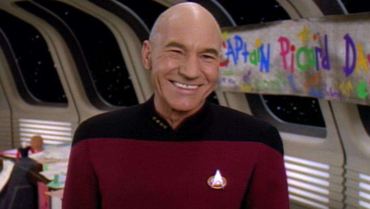 Captain Picard Day 11 Picard Quotes The Universe Should Live By