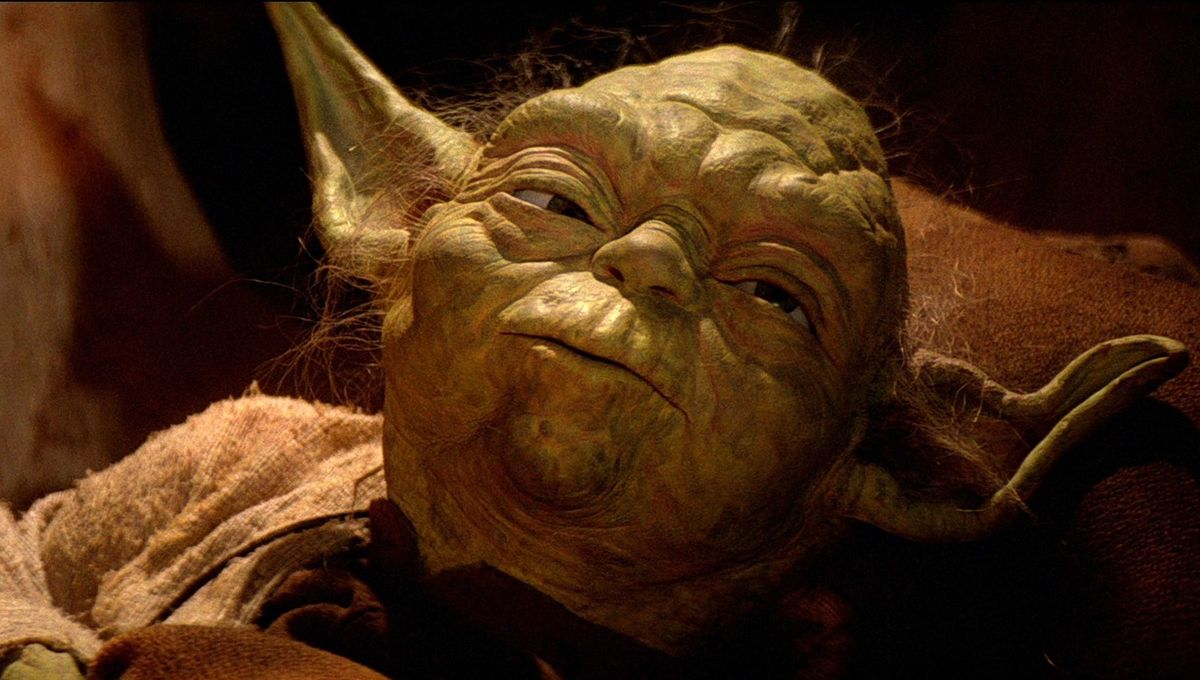 the morality and philosophy of the character yoda in the star wars movie series [spoilers] star wars' roots in mythology are so well-established that they have become a sort of legend in themselves: somewhere in a hallowed office in the '70s, george lucas, poring the ancient pages of campbell's hero with a thousand faces, struck the molten iron of the sci-fi zeitgeist to create a new myth, a fantasy set in the stars, with futuristic light sabers and a misty philosophy.