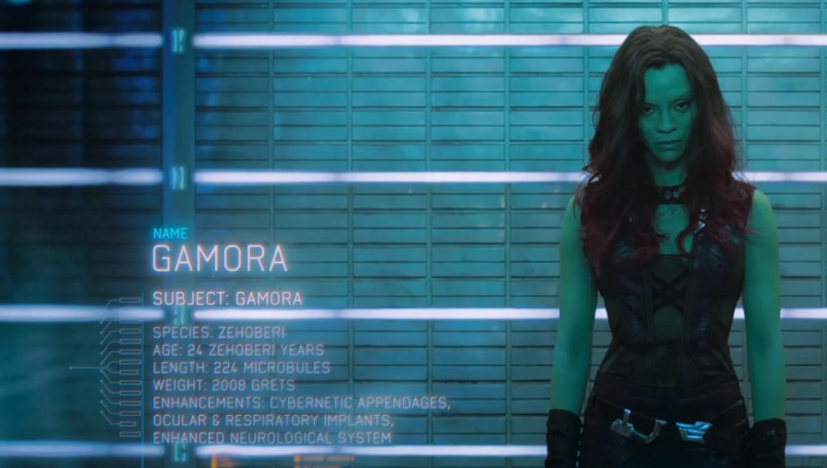 Image result for young gamora