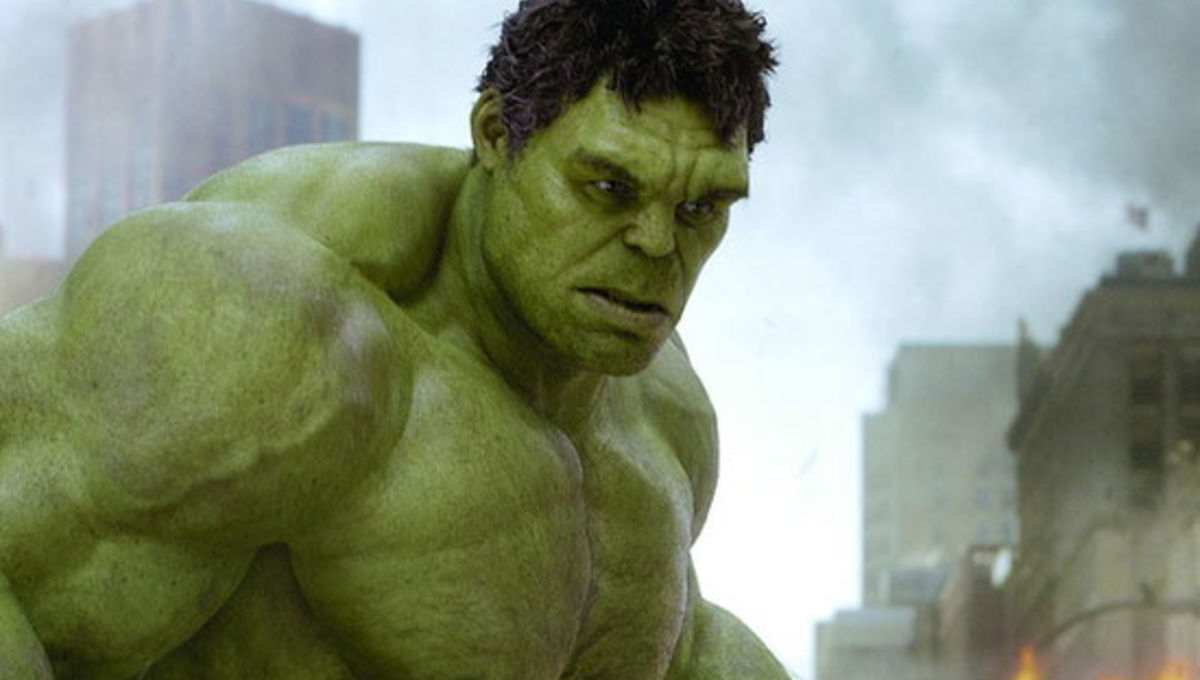 eea40c71a New Avengers pic gets up close and personal with Hulk's new face