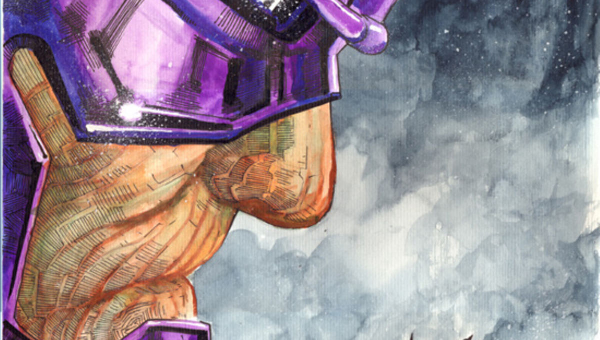 Image of the Day: Batman vs.—Galactus?   SYFY WIRE