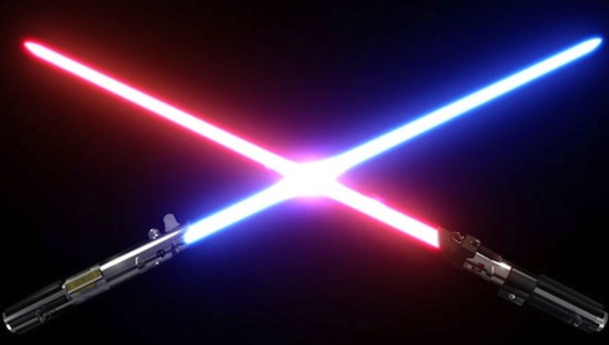Little Known Sci Fi Fact The Accident That Gave Us The Lightsaber