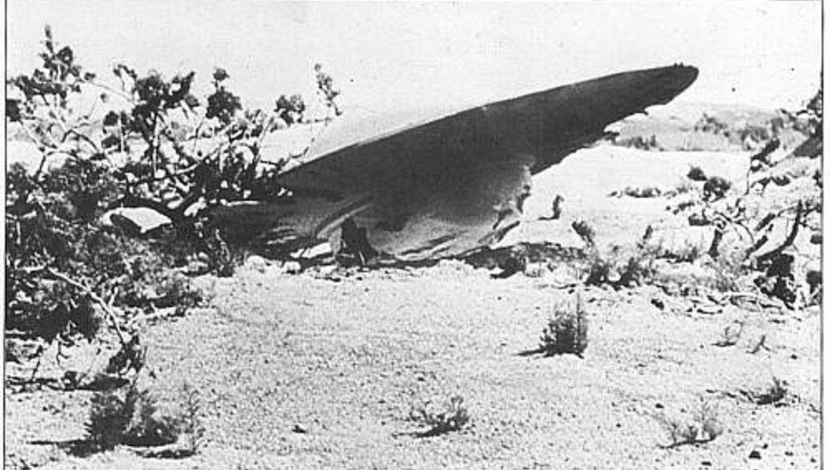 Image result for roswell ufo crash