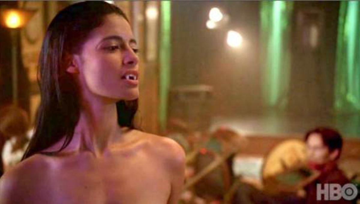 Trueblood female nudity