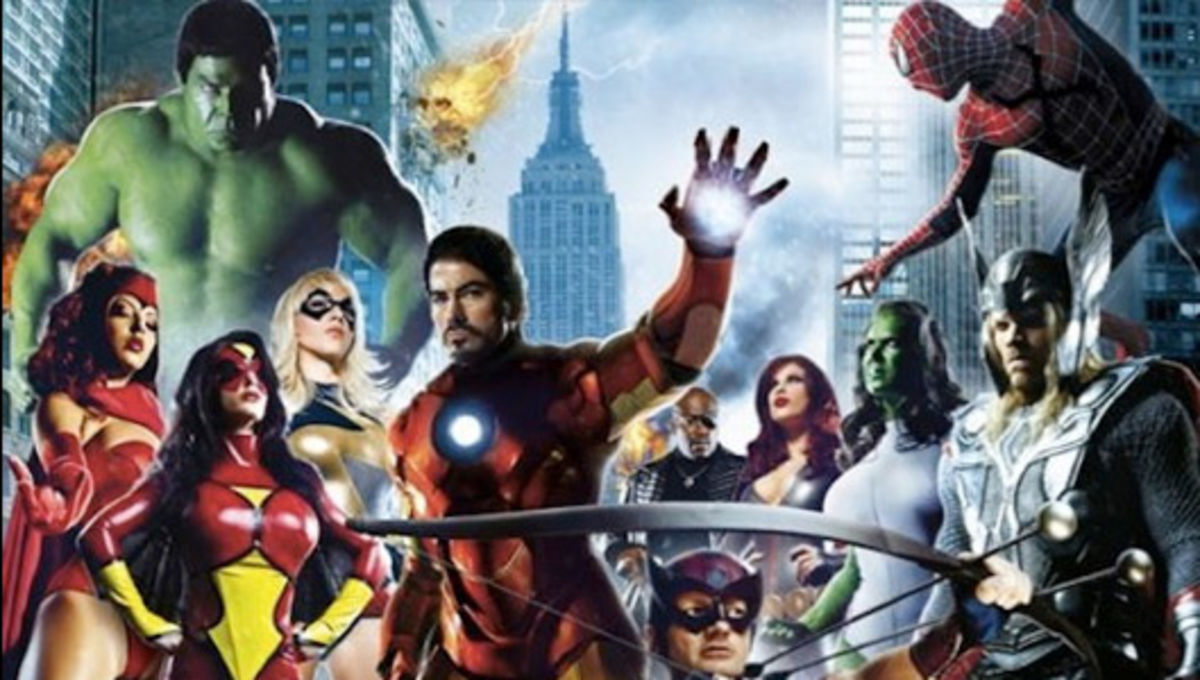 Avengers(?) assemble in hilarious - and SFW - porn parody