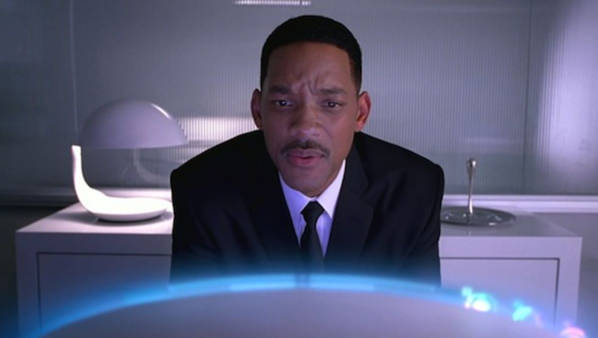Heres How Will Smith Explained Men In Black 3 To Confused