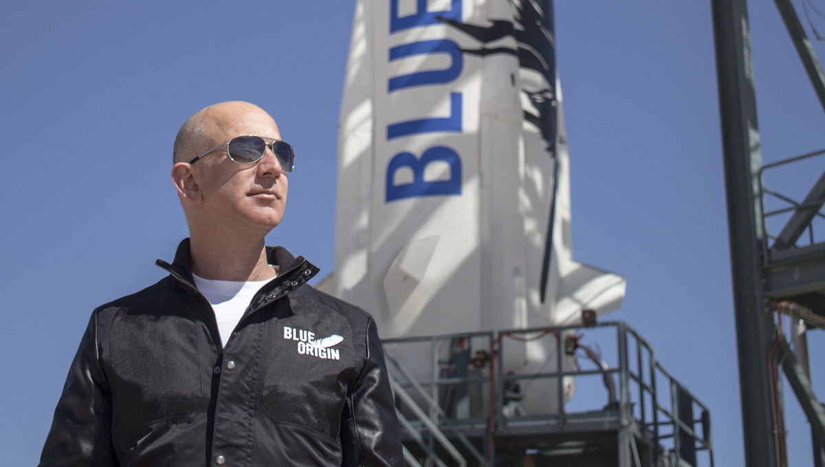 Blue Origin's Jeff Bezos wants to colonize the solar system, and ...