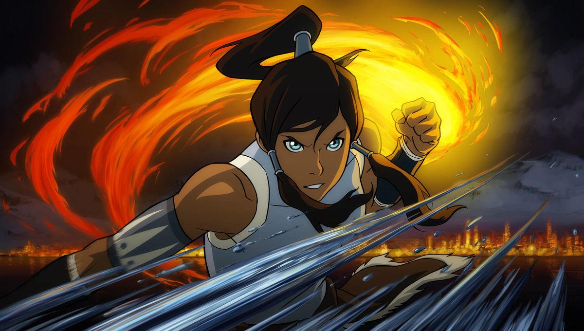 Aang Korra avatar: the last airbender, the legend of korra, and their