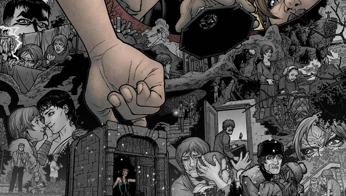 """Image result for LOCKE AND KEY COMIC"""""""