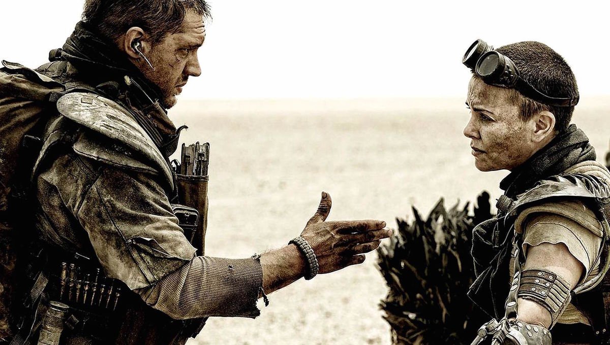 Charlize Theron and Tom Hardy on the most dangerous stunt they did in Fury  Road  e0b5fcfd9f4