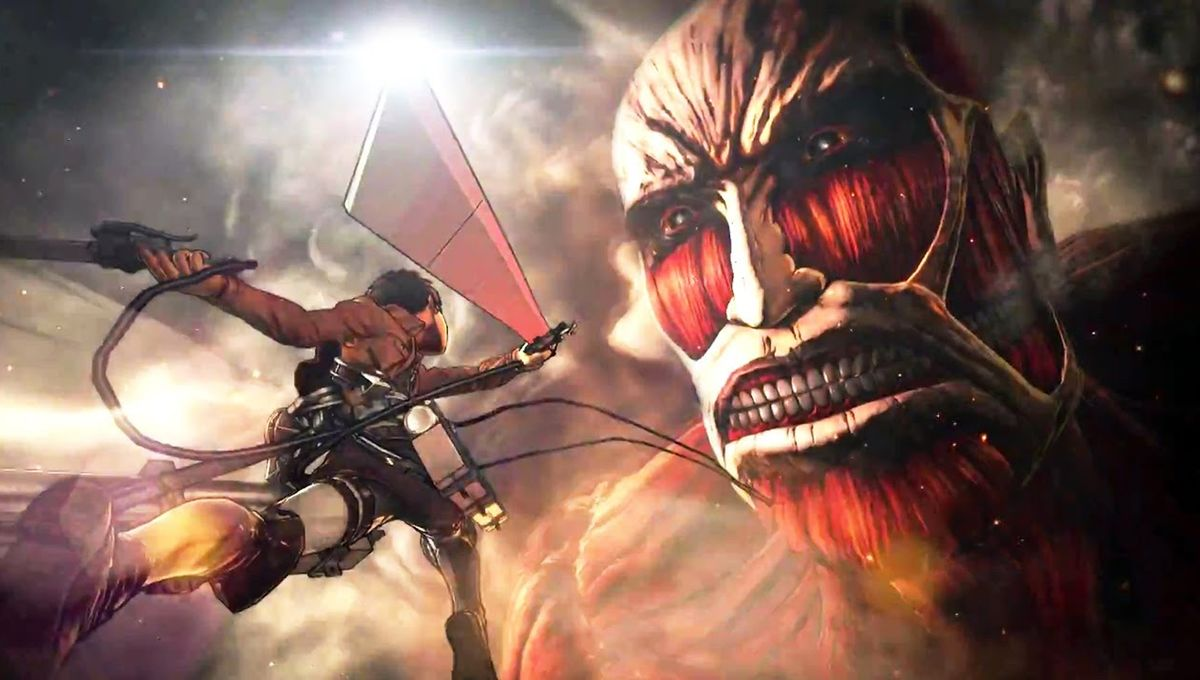 Revel in this ravenous new Attack on Titan video game trailer
